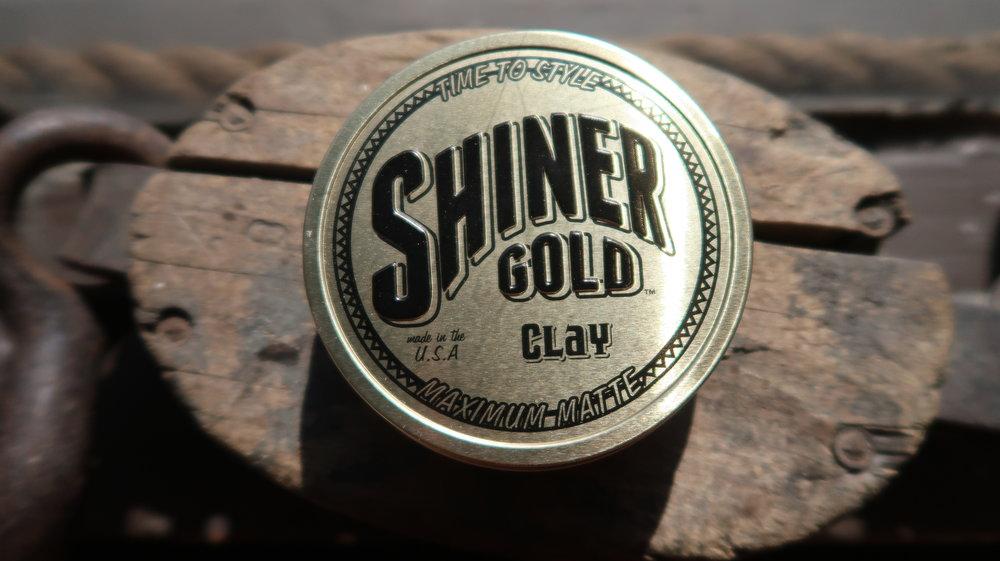 shiner gold matte Clay - item #03