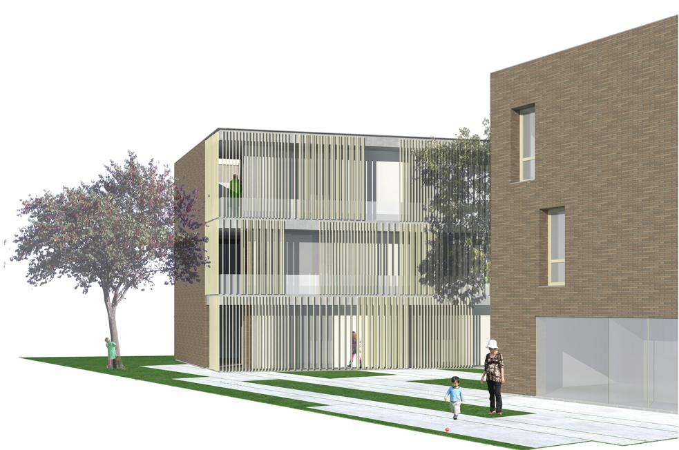 Nuova residenza universitaria, Marghera, Ve