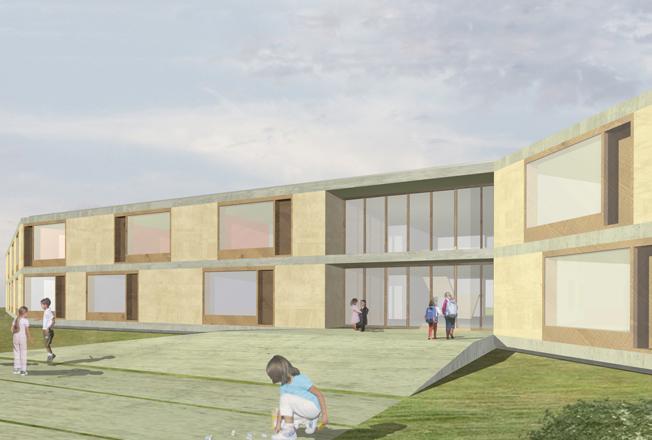 New Kindergarten School Complex, Noventa, Pd