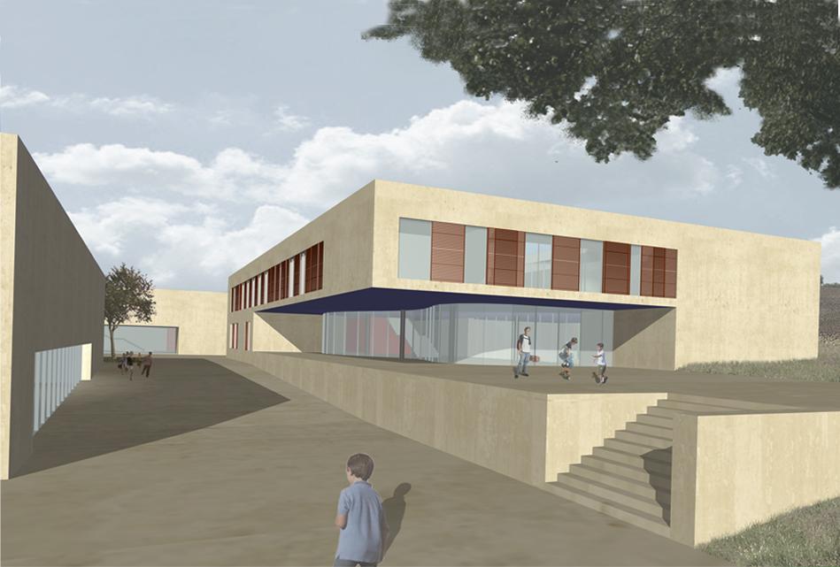 New School Complex , Maiolati Spontini, An