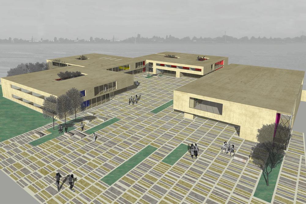School Complex, Felino, Pr