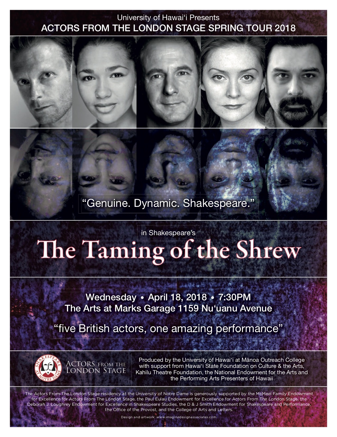 Actors From The London Stage – Taming of the Shrew — The