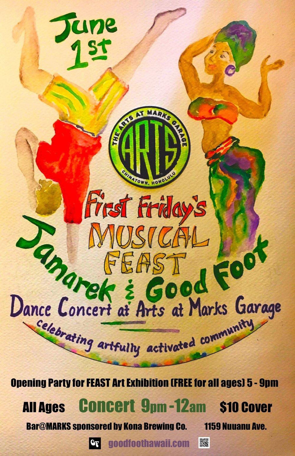 Good Foot and Jamarek June 1 Arts at Mark's poster lores - Babatunji Heath.jpg