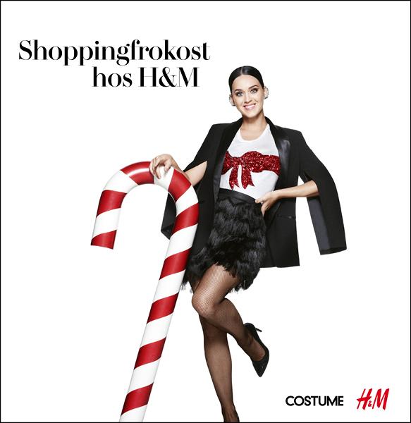 H&M  Diverse materiell til event