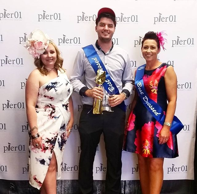 Best hat and best dressed male and female at our Melbourne Cup Day luncheon yesterday 🏇 #melbournecup #winners
