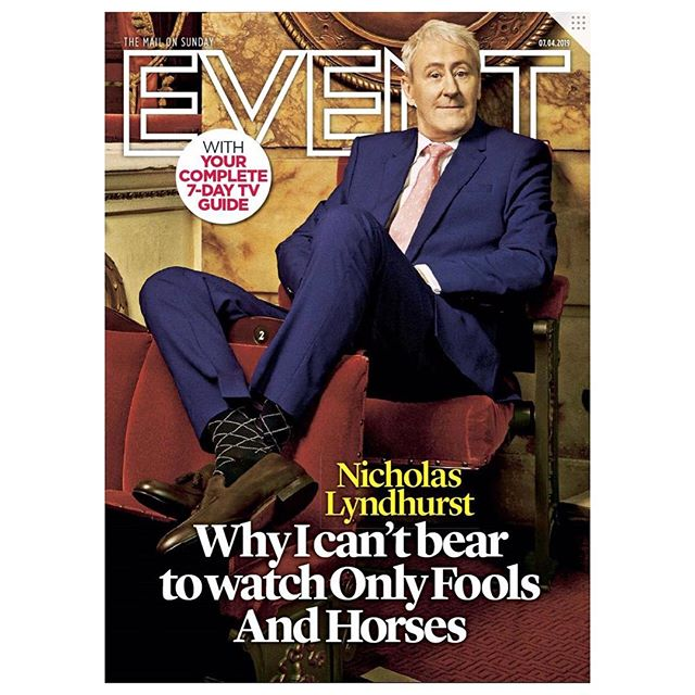 Nicholas Lyndhurst wears @shopoliverbrown & @fairfaxandfavor on the cover of @eventmagazine 📺 | Via @dailymail | #oliverbrown #fairfaxandfavor