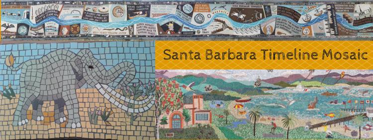 santa barbara timeline mosaic