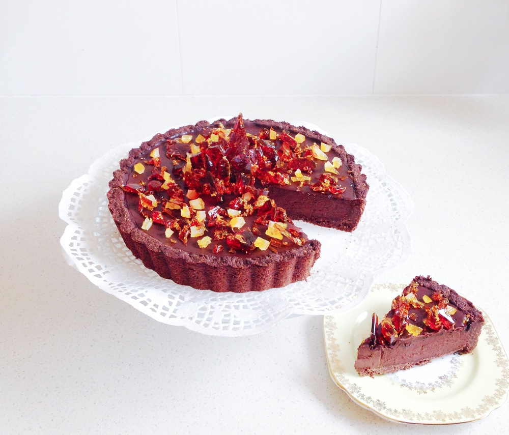 katherinesabbath.vegan.choccoconut.jaffa.tart.slice