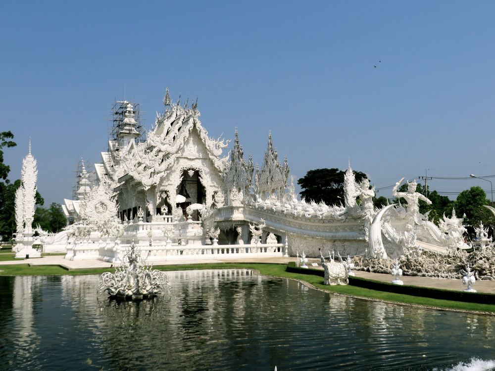 White is meant to symbolize the purity of Lord Buddha