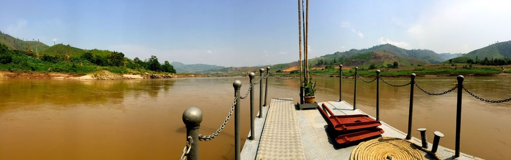 And this, this is the Mekong.