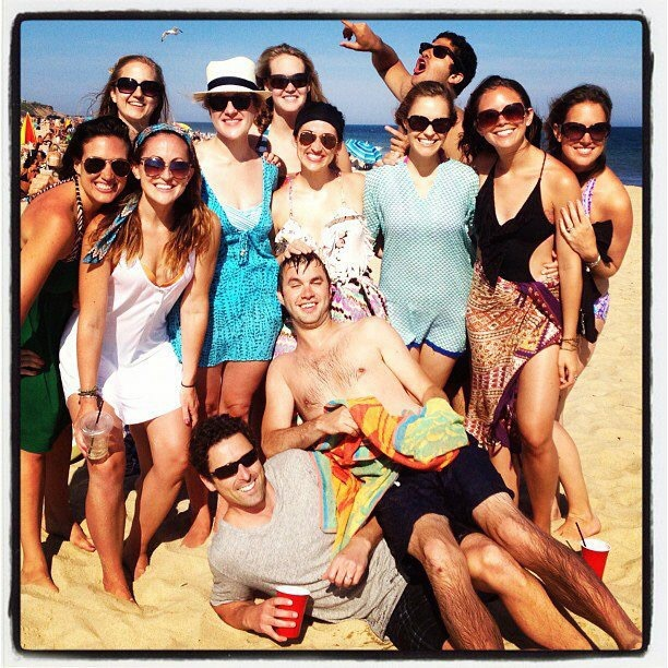 Lindsay's birthday, 2013/2012, montauk style.  People raged.    Certain people did anyway, in the back.