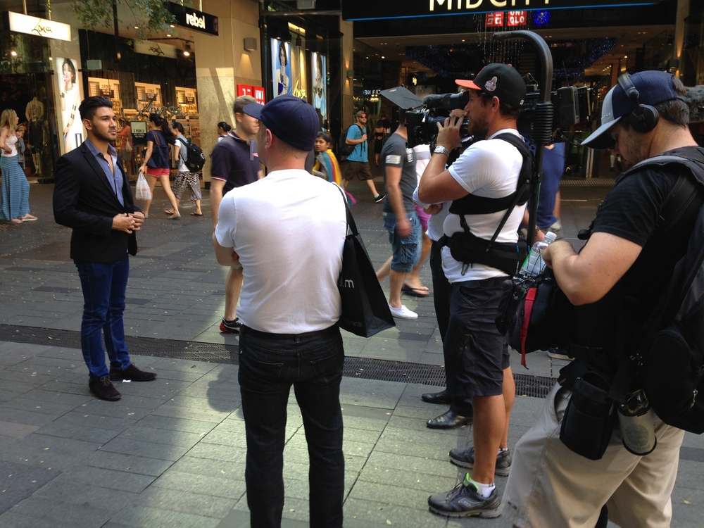 TV Segment, Channel 7 News, Sydney, Australia