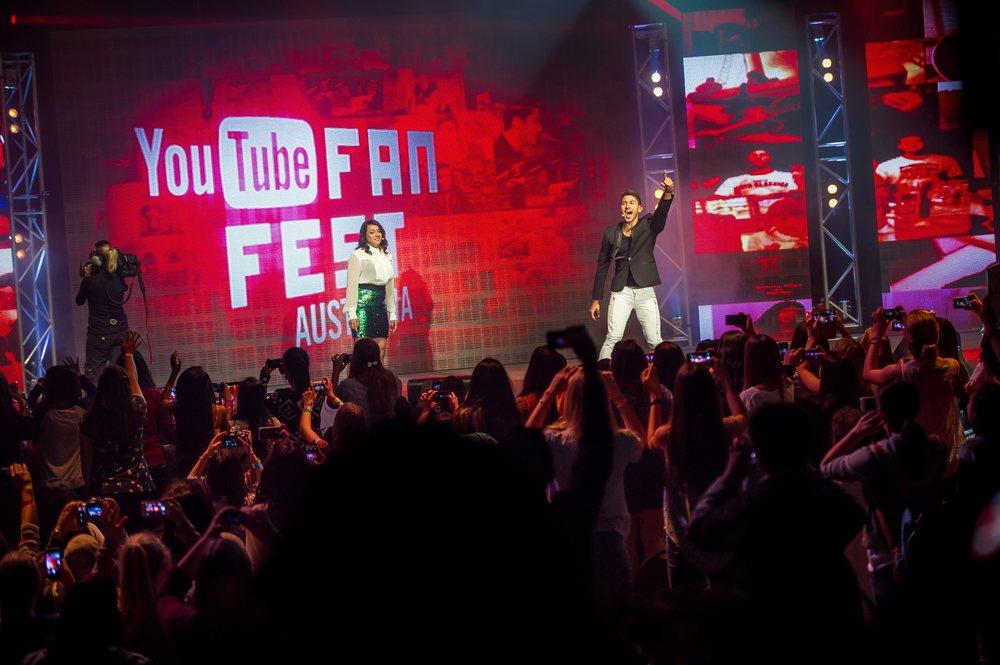 YouTube FanFest, Sydney, Australia