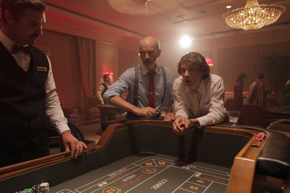 Bernard and Greg play Craps.JPG
