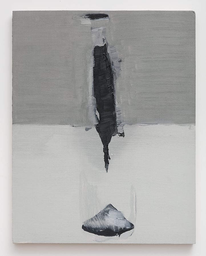 Dana DeGiulio    no title , 2015  Oil on panel  14 x 11 inches
