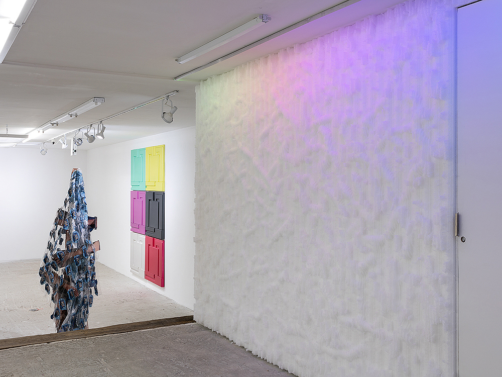 LOW   Organized by Michael DeLucia & Ethan Greenbaum  February 14 - March 13, 2016  Installation view at Lyles & King