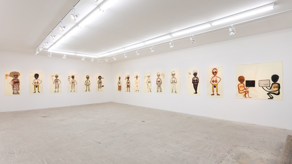 Mira Schor     Death Is A Conceptual Artist    Installation view at Lyles & King
