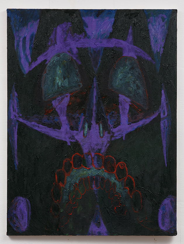 Rebecca Watson Horn    Witch 5 , 2015  Oil on canvas  24 x 18 inches