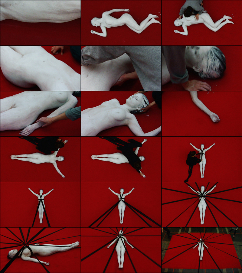 Aneta Grzeszykowska   Hymn , 2015/2016  Video stills  Single channel video  Running time: 3 minutes, 12 seconds  Edition of 3