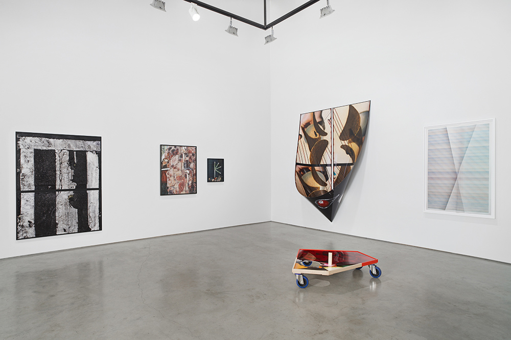 Ethan Greenbaum   Fixed Variable   Installation view at  Hauser & Wirth  New York, US  June 27 - July 25, 2014