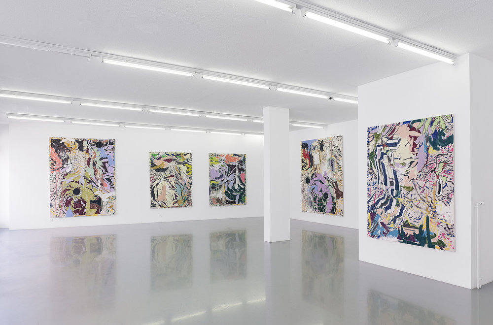 Chris Hood   Chris Hood   Installation view at  Galerie Bernard Ceysson  Geneva, CH  May 19 - July 16, 2016
