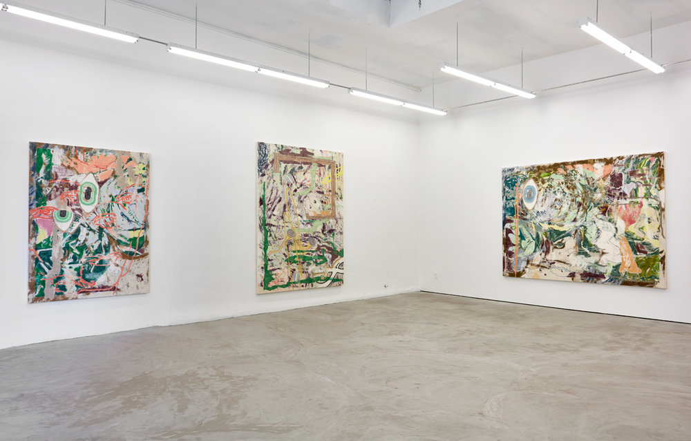 Chris Hood   Octopi Blush   Installation view at  Mier Gallery  Los Angeles, US  May 22 - July 2, 2016