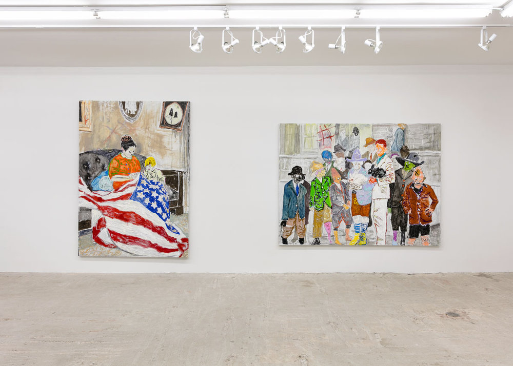Farley Aguilar   Bad Color Book   Installation view at  Lyles & King  New York, US  January 8 - February 12, 2017