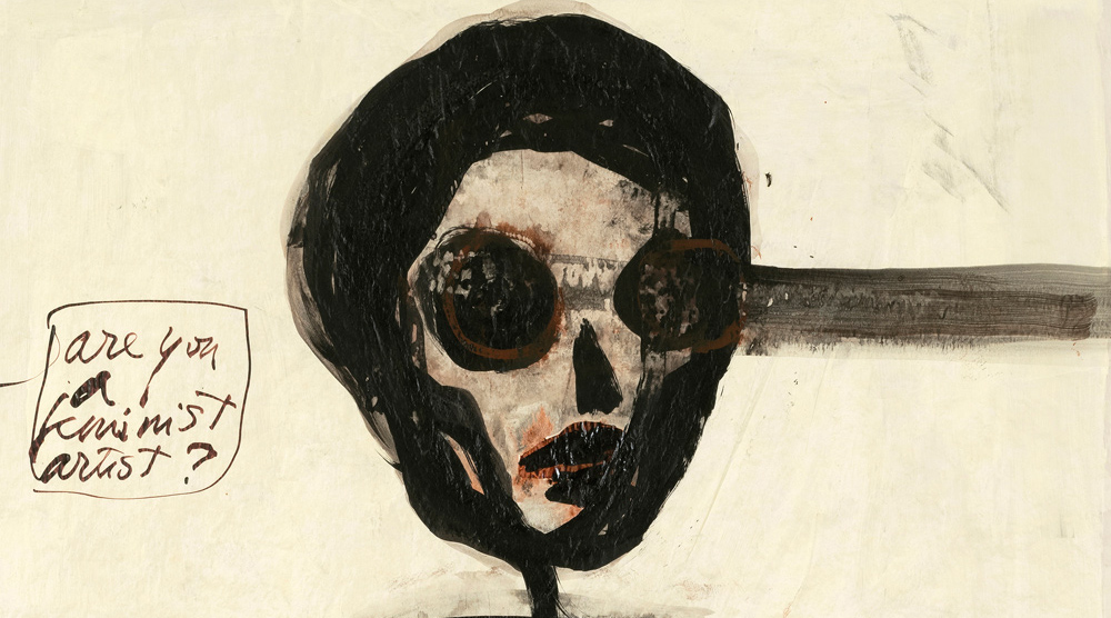 Mira Schor    Death Is A Conceptual Artist    March 18 - April 24, 2016