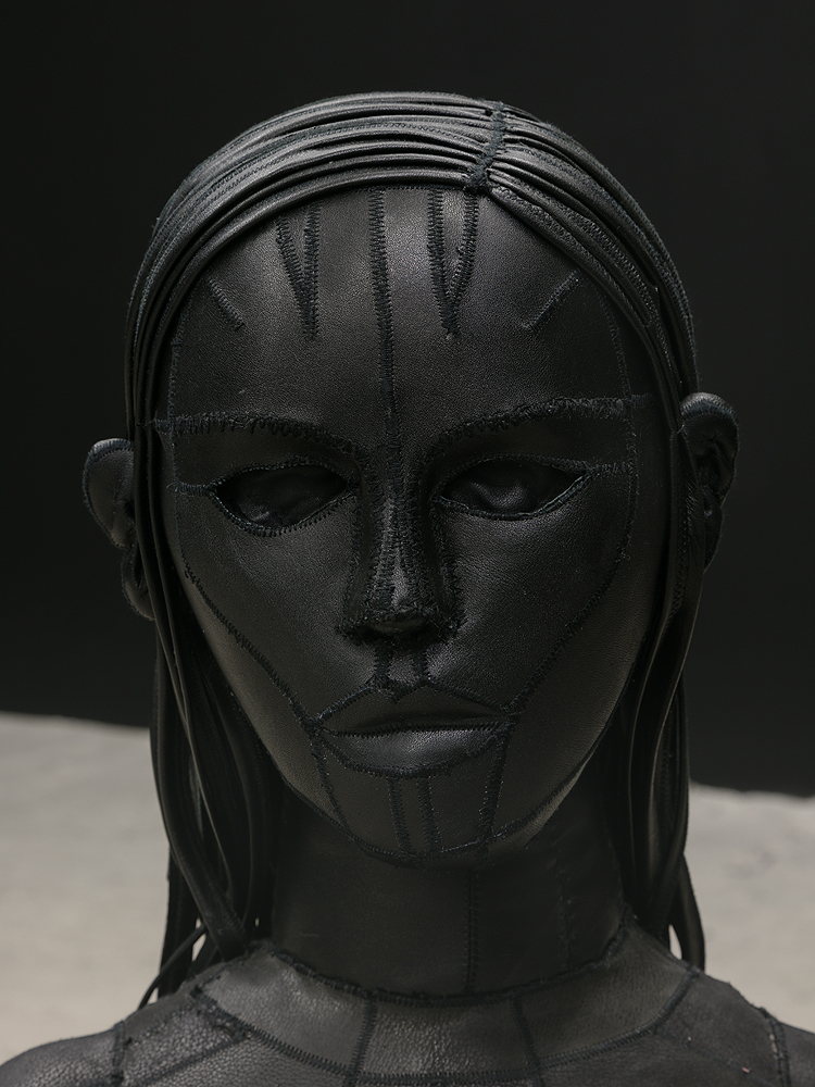 Aneta Grzeszykowska   Untitled (Skin Doll) , 2016  Detail view