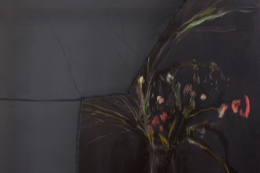 Erica Mahinay   Sanctuary (a Process) , 2017  Detail view