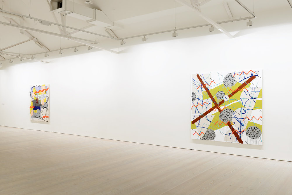 Trudy Benson   Abstract America Today   Saatchi Gallery  London, UK  May 28 - September 9, 2014