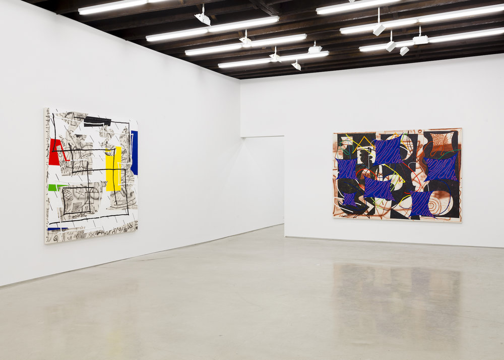 Trudy Benson   Shapes of Things   Installation view at  Lisa Cooley  New York, US  April 4 - May 3, 2015