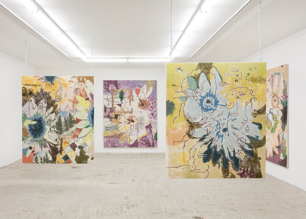 Chris Hood   Novel Gazers   Installation view at   Lyles & King  New York, US  September 8 - October 8, 2017