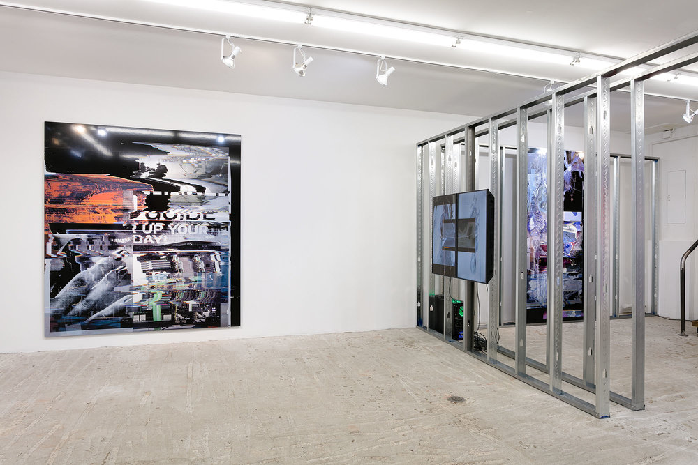 Chris Dorland   Civilian   Installation view at  Lyles & King  New York, US  January 12 - February 11, 2018