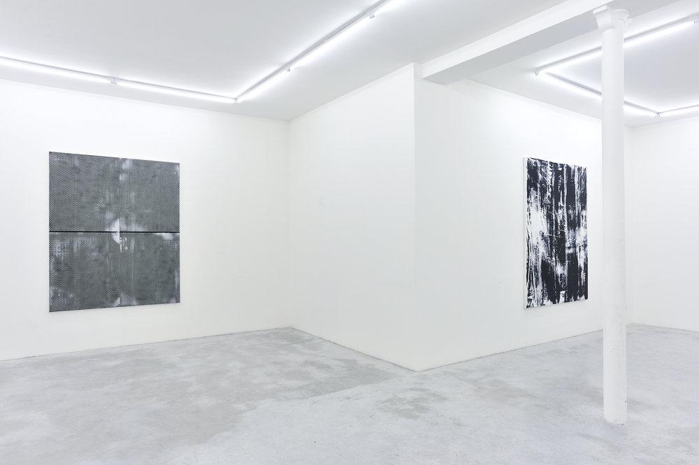 Thomas Fougeirol   Black Sun   Installation view at Praz-Delavallade  Paris, FR  April 2 - May 7, 2011