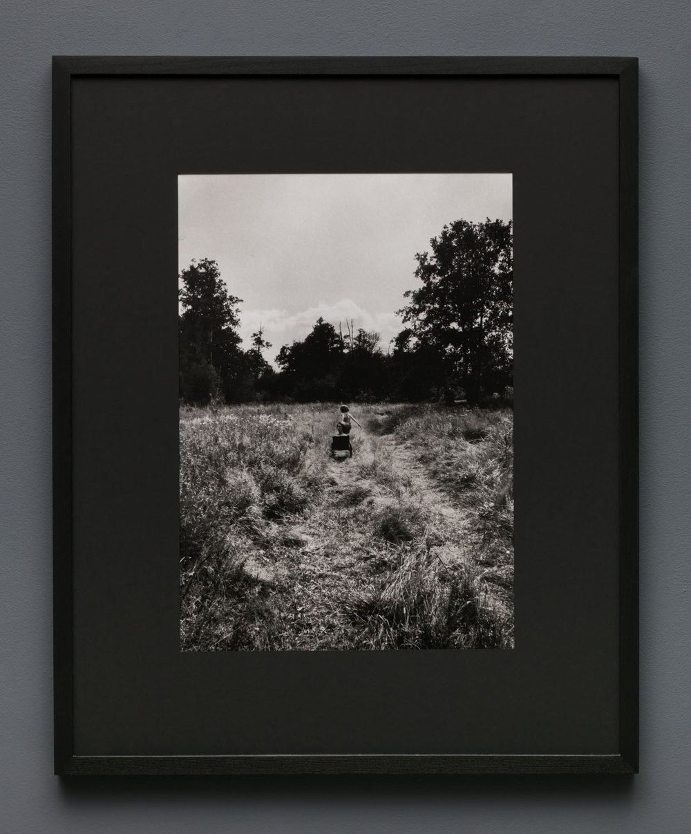 Aneta Grzeszykowska   Mama #43 , 2018  Silver gelatin print  Hand printed by the Artist  19.625 x 14.145 inches  29.5 x 24 inches (framed)  Edition of 5 + I A.P.