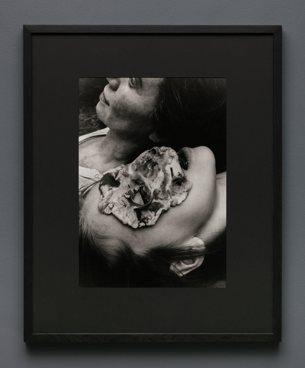 Aneta Grzeszykowska   Mama #22 , 2018  Silver gelatin print  Hand printed by the Artist  19.625 x 14.145 inches  29.5 x 24 inches (framed)  Edition of 5 + I A.P.