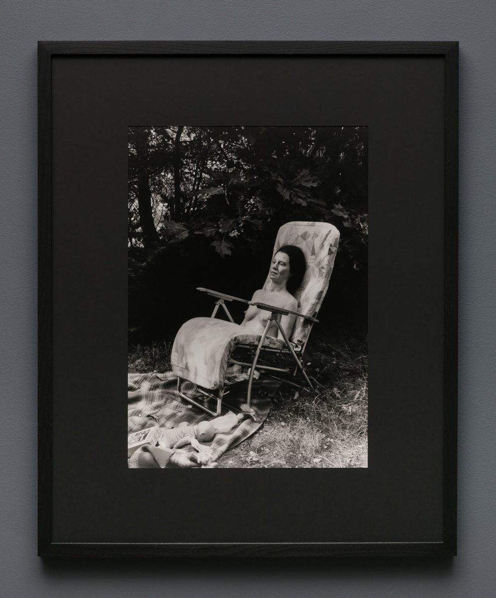 Aneta Grzeszykowska   Mama #36 , 2018  Silver gelatin print  Hand printed by the Artist  19.625 x 14.145 inches  29.5 x 24 inches (framed)  Edition of 5 + I A.P.