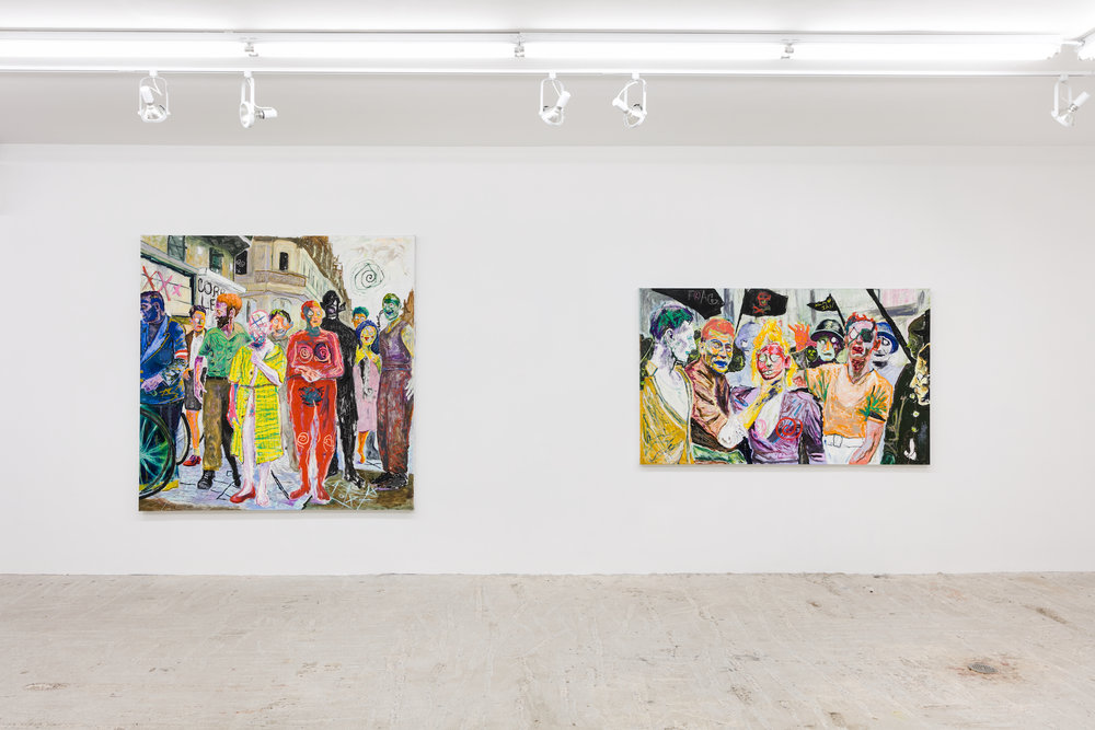 Farley Aguilar   Cleansing   January 18-February 24, 2019  Installation view