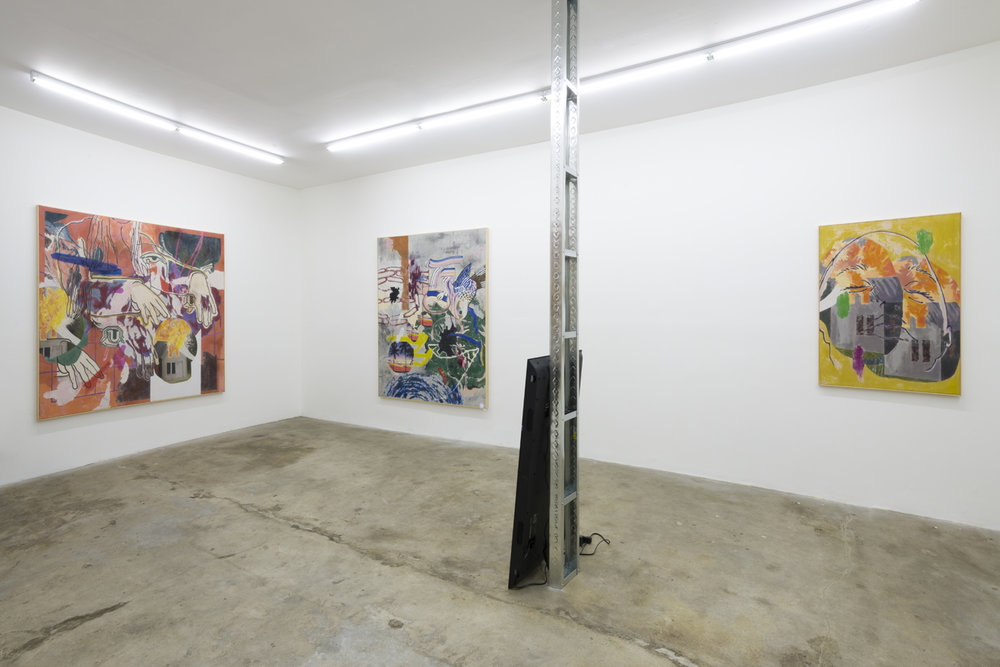 Chris Dorland & Chris Hood  The Pit Presents  January 6 - February 17, 2019  Installation view