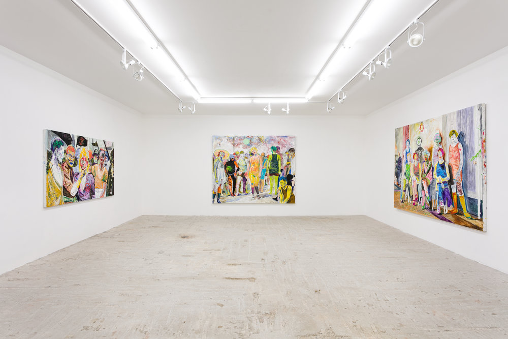 Farley Aguilar   Cleansing   Installation view at  Lyles & King  New York, US  January 18 - February 24, 2019