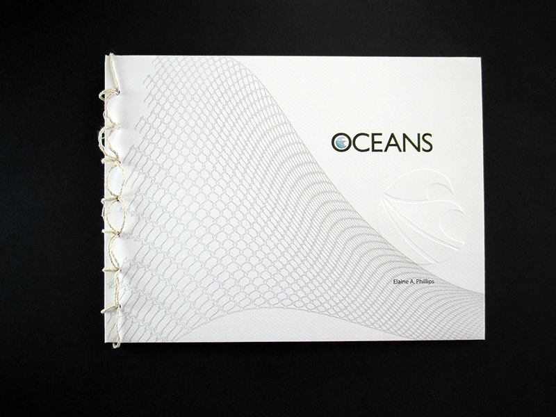 front cover design of oceans, by Elaine Phillips