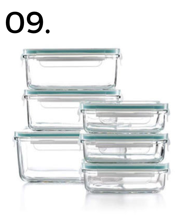 Martha Stuart Glass Storage Containers