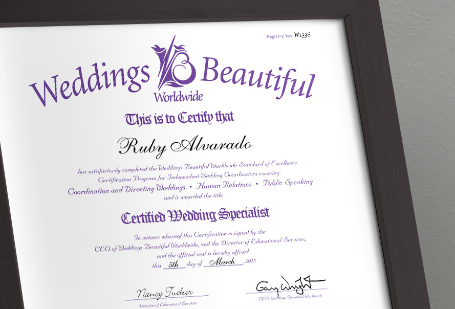 Weddings Beautiful Wedding Specialist