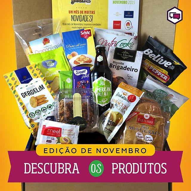 Olha só quem está na edição de novembro da GlutenFree Box! 👍😋 Os biscoitos de gergelim da #santulana estão em ótima companhia este mês! Pra conferir o que vem no Box e assinar, é só acessar www.glutenfreebox.com.br #vemcomagente  #semconservantes #semglutensemlactose #comidadeverdade #glutenfree #glutenfreebox #novembro #vivaoequilibrio