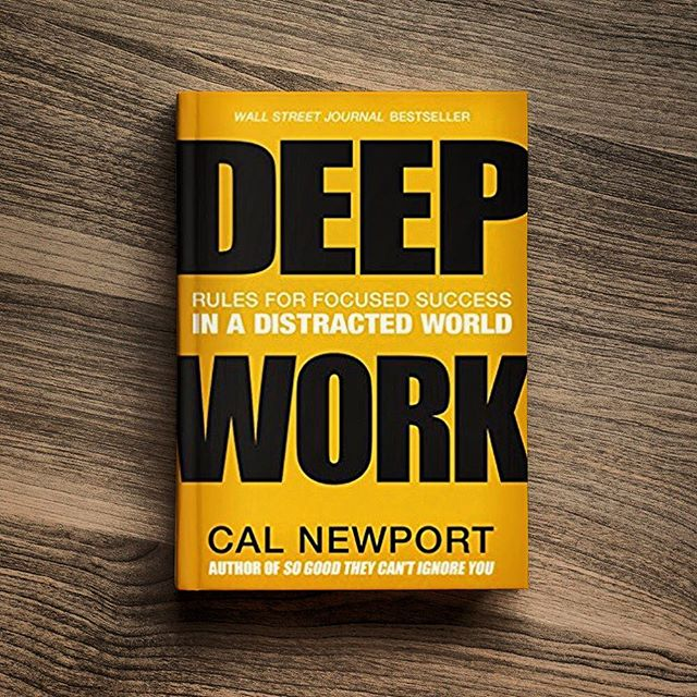 Our latest #bookreview is all about making it work in the workplace. Check it out on our #blog. #advertising #calnewport