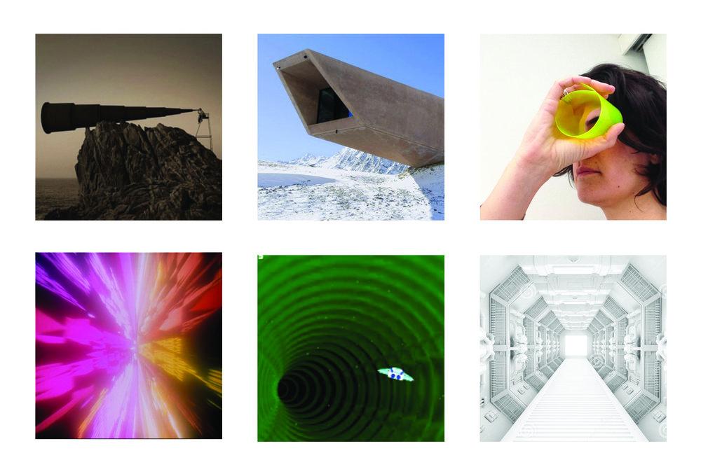 Moodboard: immagini di riferimento per un approccio rivolto al futuro, che guarda al domani.