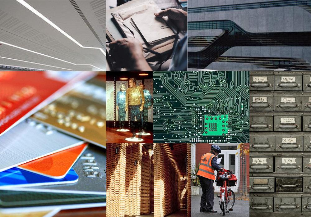 Moodboard: immagini di riferimento e spunti di progetto.
