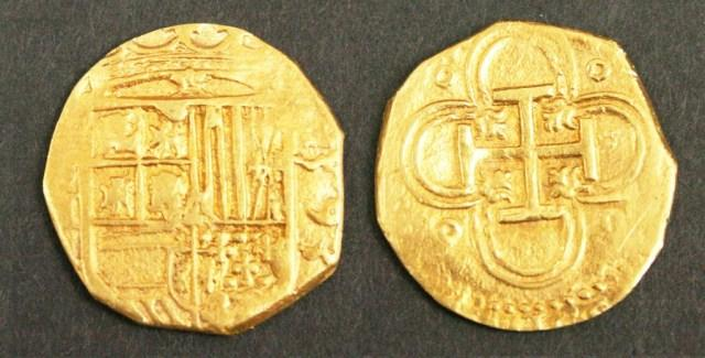 4 Escudo Gold coin.