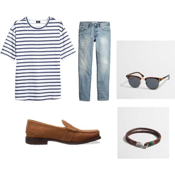 Shirt: H&M Jeans: H&M, Accessories: J.Crew, Loafers: Ralph Lauren,